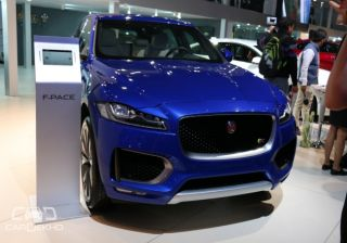 Jaguar Showcases F-Pace SUV at 2016 Indian Auto Expo