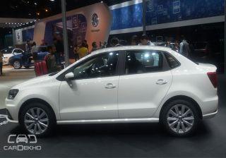 Volkswagen Ameo Showcased at 2016 Auto Expo