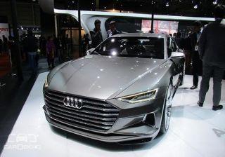 Audi brings Prologue Concept to 2016 Auto Expo