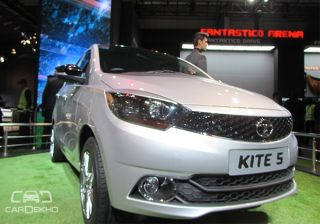 Tata Kite 5 Compact Sedan - Picture Gallery!