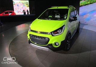 Chevrolet Beat ACTIV: Detailed Photo Gallery From Auto Expo 2016