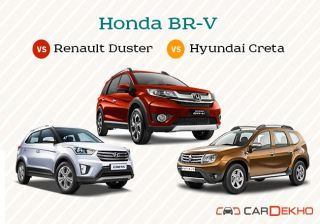 Comparison: Honda BR-V vs Renault Duster vs Hyundai Creta