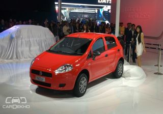Fiat Punto Pure Launched at Rs. 4.49 lac at 2016 Auto Expo