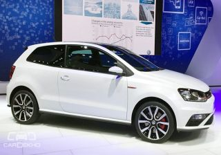 Volkswagen Showcases Polo GTI at the Indian Auto Expo