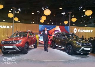 Renault Unveils Duster Facelift at 2016 Auto Expo