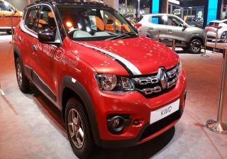 Accessorised Renault Kwid on display at Auto Expo 2016