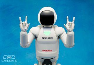 Honda ASIMO - an advanced step for robots