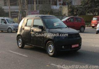 Maruti Suzuki Ignis Spotted Testing in India