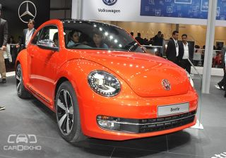 Volkswagen Beetle Gallery: The Bug at Indian Auto Expo 2016