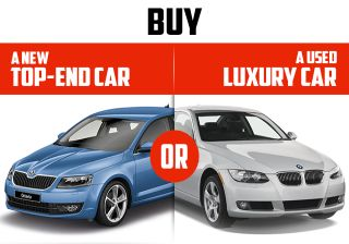 Got 18 lakhs? Decide Between a New OR a Used Luxury Car