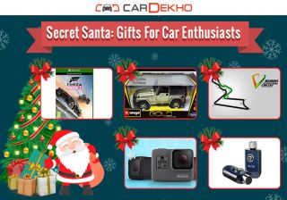 Secret Santa: Gifts For Car Enthusiasts
