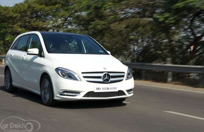 Mercedes Benz B Class On Road Price In Hyderabad