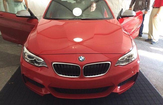 BMW 2 Series M235i model leaked