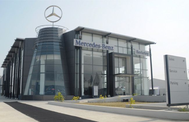 Mercedes benz inaugurates new dealership in karnal for G stone motors used cars