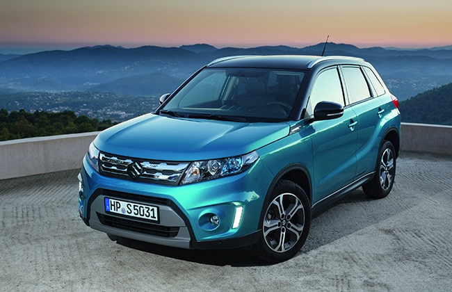 India Bound Suzuki Vitara Prices and Specifications Announced For