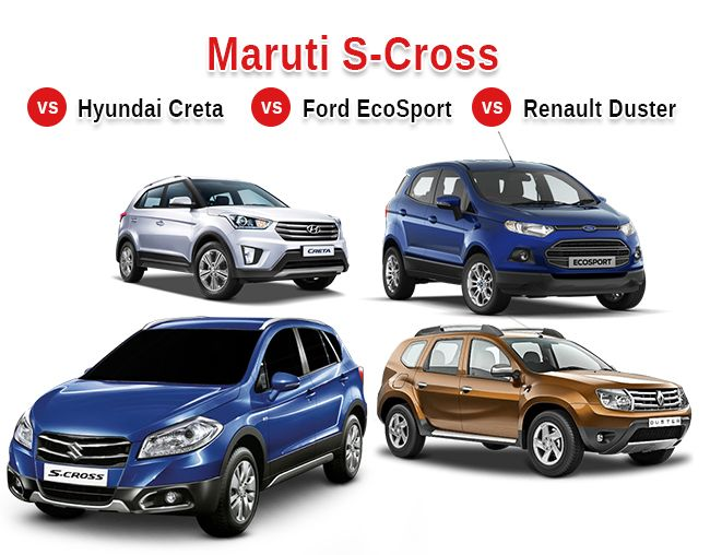 s cross takes on the competition hyundai creta renault duster and ford ecosport. Black Bedroom Furniture Sets. Home Design Ideas