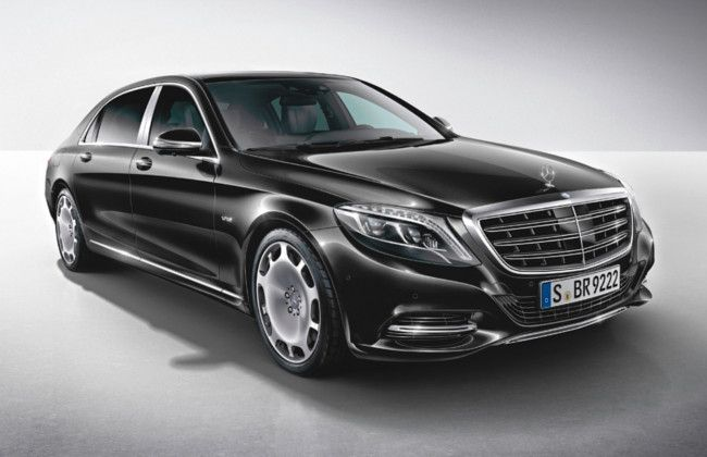Mercedes maybach s600 glides in at la auto show for Mercedes benz driving school los angeles