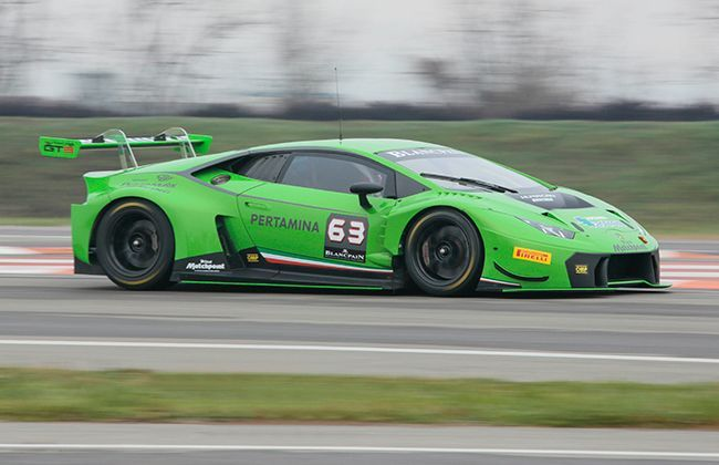 lamborghini huracan gt3 officially joins the blancpain endurance series car. Black Bedroom Furniture Sets. Home Design Ideas