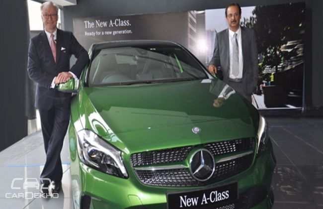 Mercedes benz presents its first 3s luxury car dealership for Mercedes benz gls 350d price in india