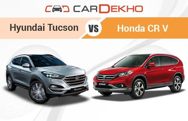 Hyundai tucson vs honda cr v competition check for Honda crv competitors