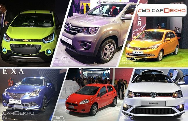 New Hatchbacks Revealed at the Auto Expo 2016
