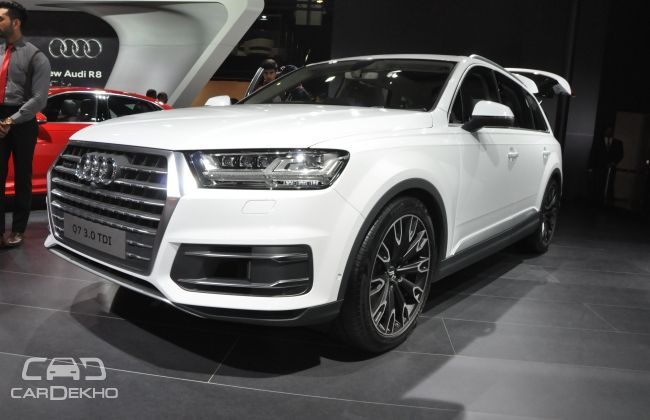 Audi Q7 Gets 2016 Top Safety Pick Rating From Iihs Cardekho Com