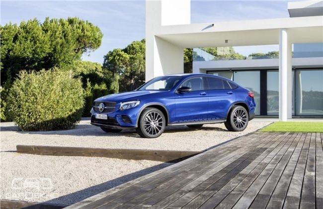 Mercedes benz glc coupe unveiled ahead of new york auto for Mercedes benz of new york