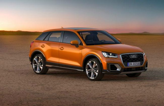 the audi q2 suv might be the cheapest luxury car in india. Black Bedroom Furniture Sets. Home Design Ideas