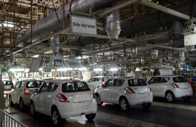 subros fire  maruti resumes production