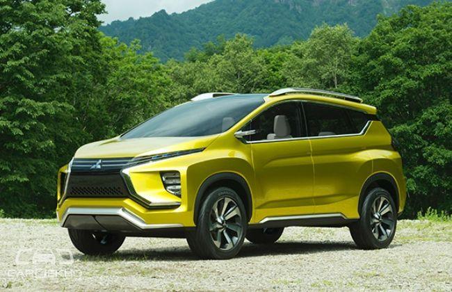 Mitsubishi XM 7-Seater SUV Concept Revealed!