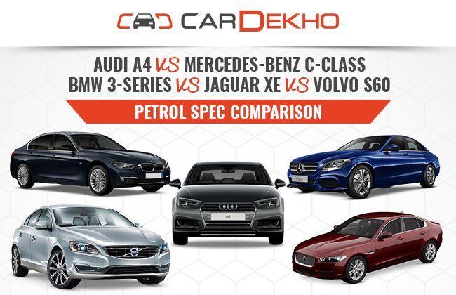Compare volvo s60 and audi a4 autos post for Mercedes benz compare