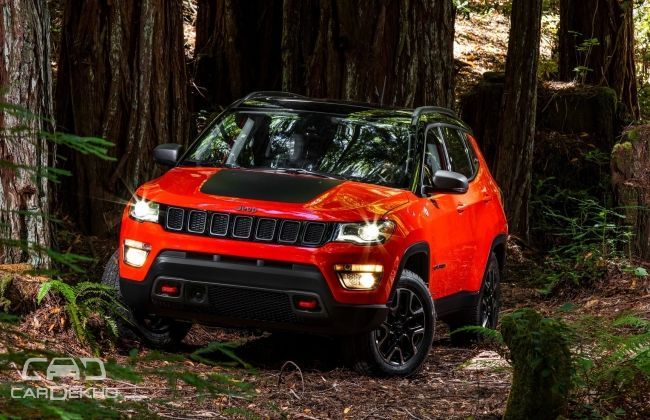 all new jeep compass revealed india launch in 2017. Cars Review. Best American Auto & Cars Review