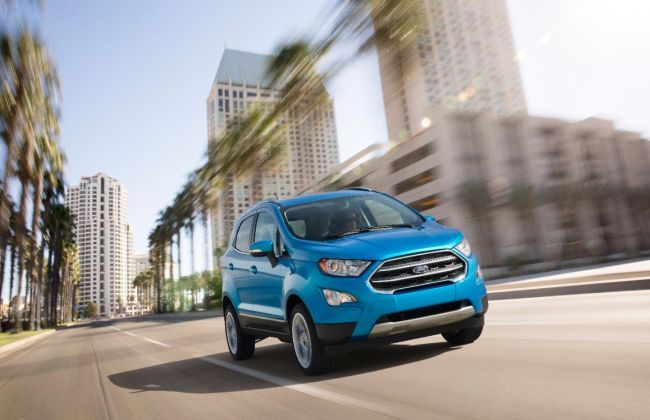 Ford EcoSport Facelift - 5 Features That India Is Likely To Miss