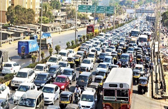 Mumbai Heavy Vehicle Movement Restricted During Peak