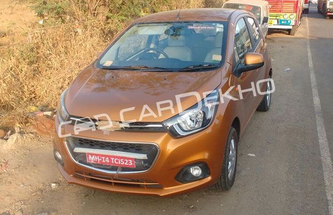 exclusive 2017 chevrolet beat spied undisguised inside out cardekho. Cars Review. Best American Auto & Cars Review