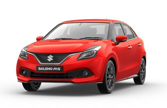 Online Bookings For Baleno RS Underway