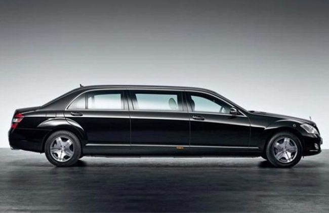 Mercedes benz s600l pullman our president 39 s official car for Mercedes benz official accessories