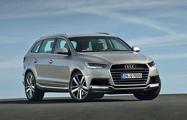 Audi Q9 Render Speculations Cardekho Com