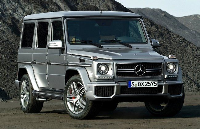Mercedes benz g63 amg launching in india by february end for Mercedes benz g63 amg 2013 price