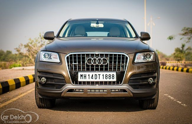 Audi lowest range car in india