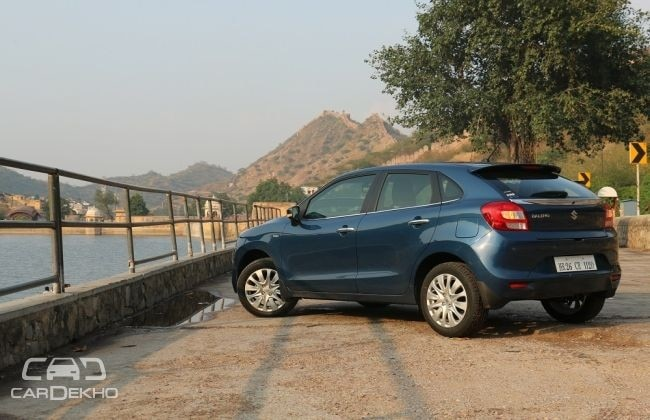 Maruti Baleno Rear-Side