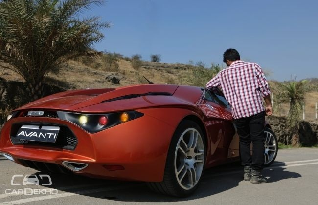 DC Avanti height
