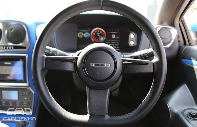 DC Avanti steering wheel
