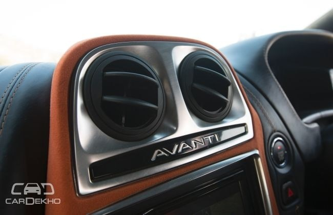 DC Avanti central AC vents