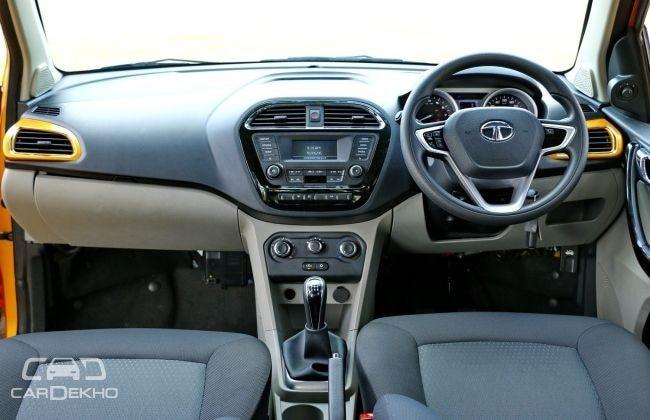 Tata Tiago XZ Variant Interiors