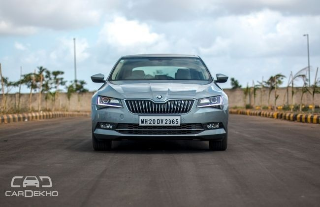 Skoda Superb Road Test Images