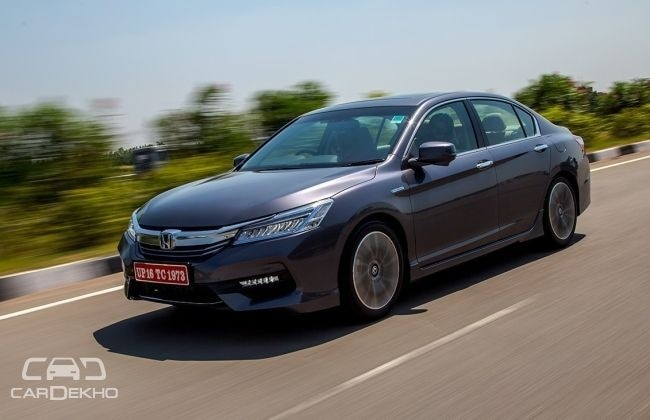 Honda Accord Price In India >> Honda Accord Price In India With Offers Pictures Full