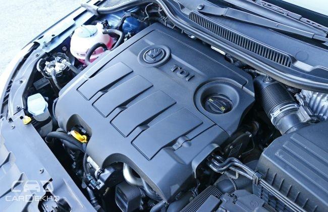 New Skoda Rapid Engine