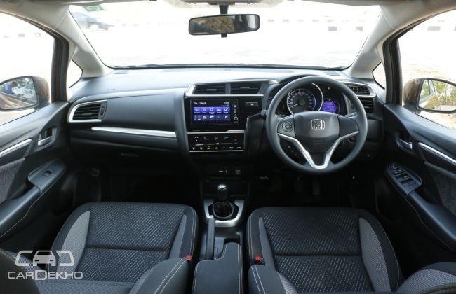 Honda WRV Interior